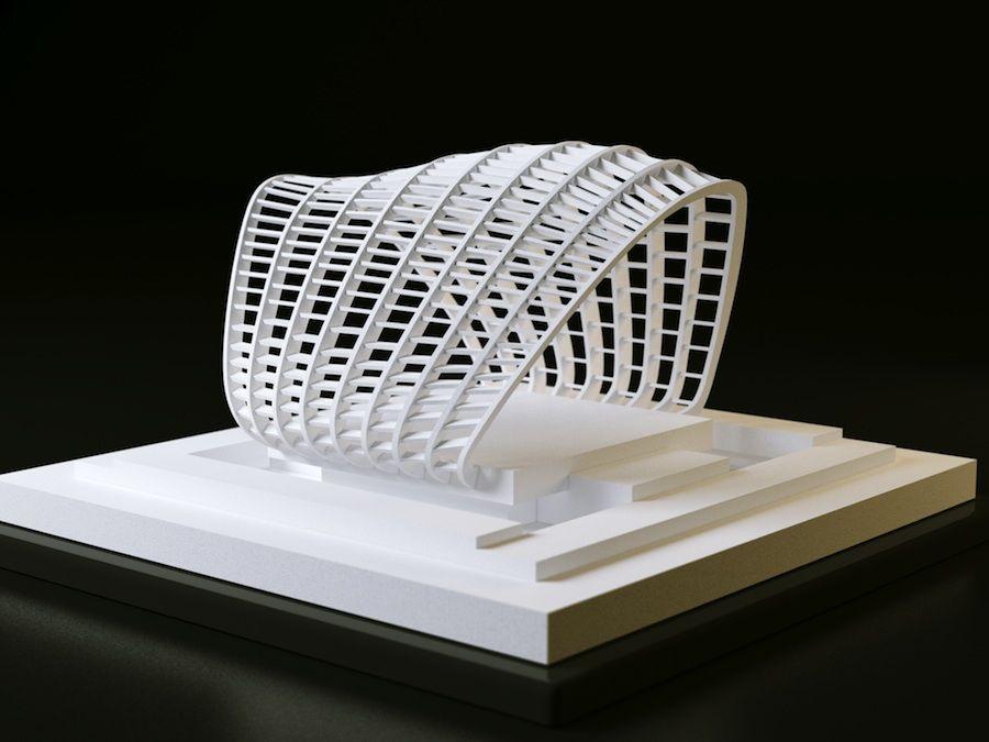 پرینت سه بعدی -معماری